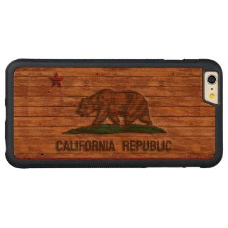 California Republic Flag Vintage iPhone 6 Plus Case