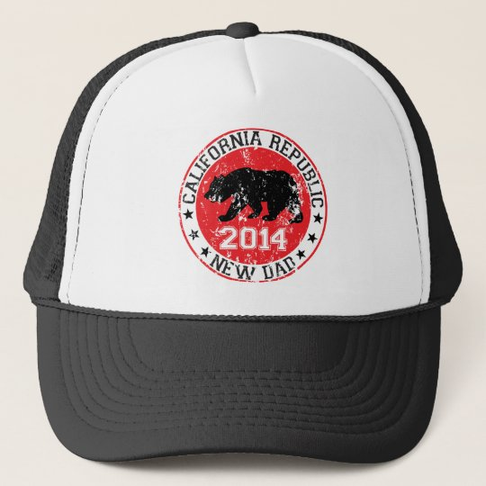 california republic new dad 2014 trucker hat