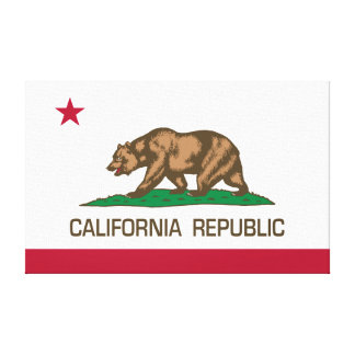 California Republic (State Flag) Gallery Wrapped Canvas