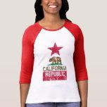 CALIFORNIA REPUBLIC State Flag Grunge Distressed