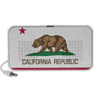 California Republic (State Flag) iPod Speaker