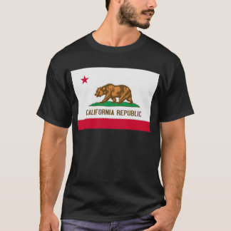 California Republic State Flag T-Shirt