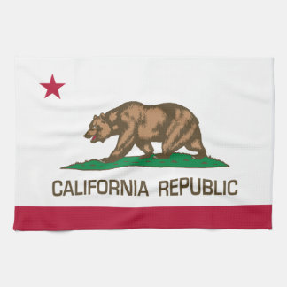 California Republic (State Flag) Tea Towel