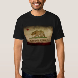 California Republic State Flag Tee Shirt