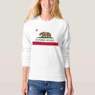 California Republic (State Flag) with Bear Sweatshirt