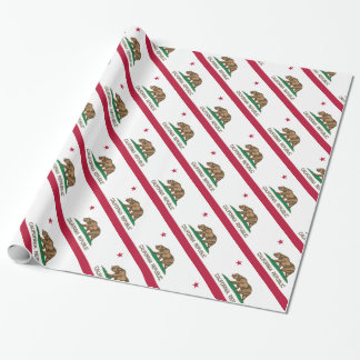 California Republic (State Flag) Wrapping Paper