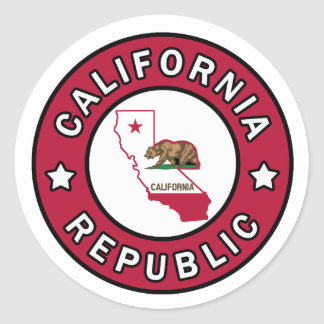 California Republic sticker
