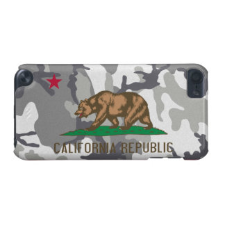 California Republic Urban Camouflage Flag iPod Touch (5th Generation) Cases