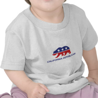 California Republican Bear T Shirt