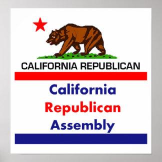 California Republican CRA Poster