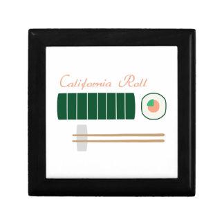 California Roll Trinket Box