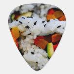 California Roll Sushi Guitar Pick