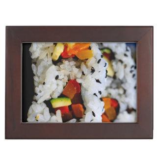 California Roll Sushi Memory Box
