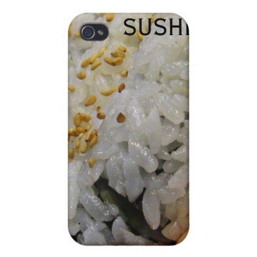 California Roll - Vegetarian Sushi iPhone 4 Cover