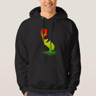 California Roots (Rasta surfer colors) Hoodie