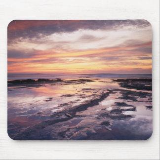 California, San Diego, Sunset Cliffs, Sunset 1 Mouse Mat