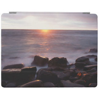 California, San Diego, Sunset Cliffs, Sunset 2 iPad Cover