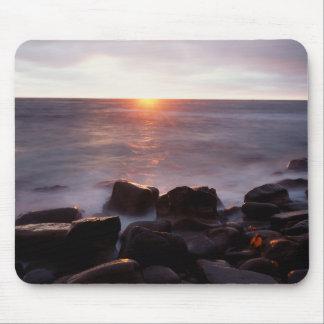 California, San Diego, Sunset Cliffs, Sunset 2 Mouse Mat