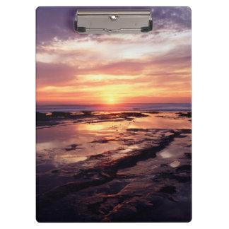 California, San Diego, Sunset Cliffs, Sunset 3 Clipboard