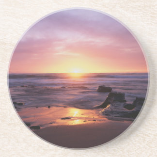 California, San Diego, Sunset Cliffs, Sunset 4 Coaster