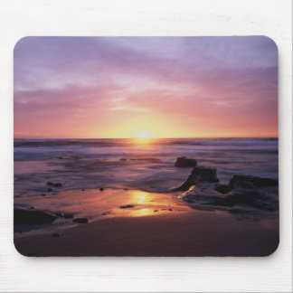 California, San Diego, Sunset Cliffs, Sunset 4 Mouse Mat