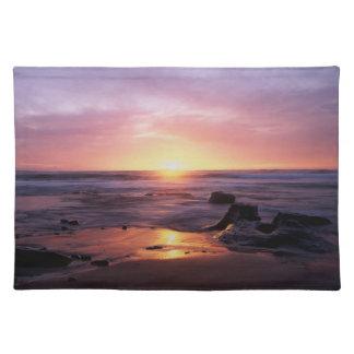 California, San Diego, Sunset Cliffs, Sunset 4 Placemat