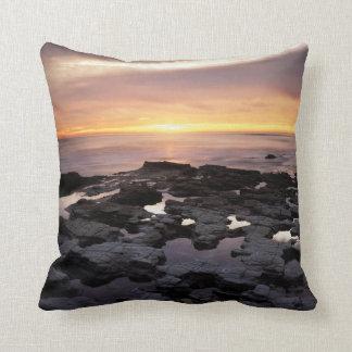 California, San Diego, Sunset Cliffs, Sunset 6 Cushion