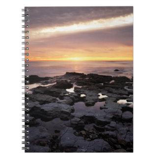 California, San Diego, Sunset Cliffs, Sunset 6 Notebook