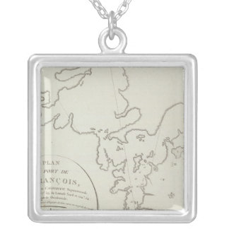 California San Francisco Bay Area Silver Plated Necklace