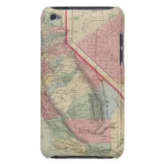 California, San Francisco Map by Mitchell Case-Mate iPod Touch Case