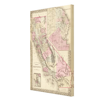 California, San Francisco Stretched Canvas Prints