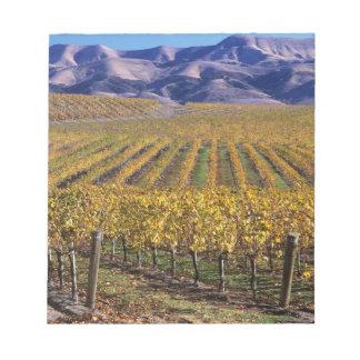 California, San Luis Obispo County, Edna Valley Notepad