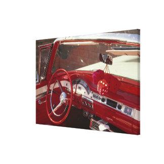 California:  Santa Ynez Valley, Solvang, 1957 Gallery Wrap Canvas