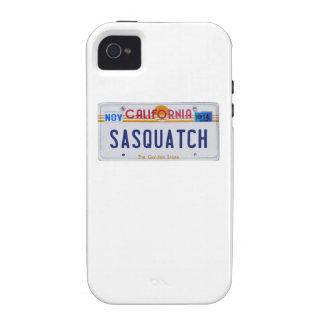 California Sasquatch License Case-Mate iPhone 4 Cover