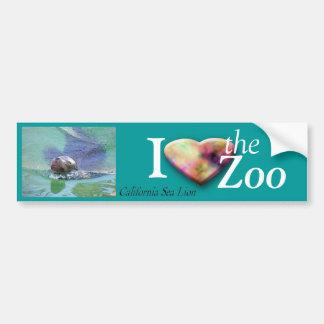 California Sea Lion Bumper Sticker