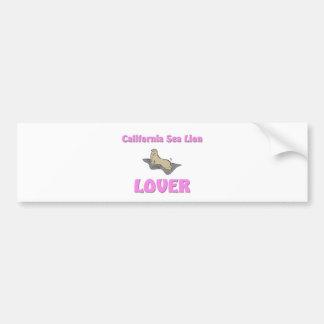 California Sea Lion Lover Bumper Stickers