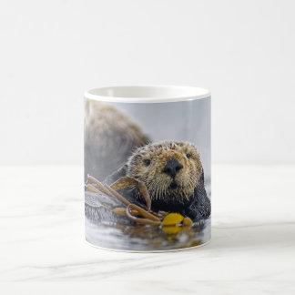 California Sea Otter Basic White Mug