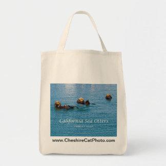 California Sea Otter California Products Tote Bag