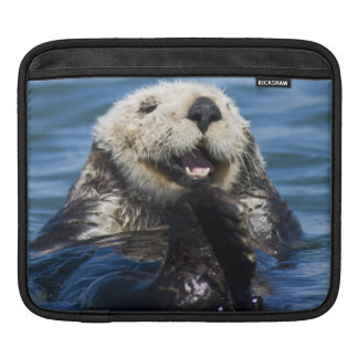 California Sea Otter Enhydra lutris) grooms iPad Sleeve