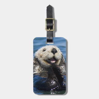 California Sea Otter Enhydra lutris) grooms Luggage Tag