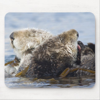 California Sea Otters Mouse Mat