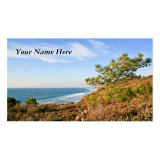 California Seascape Pack Of Standard Business Cards