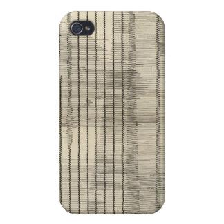 California Seismograms 10 Cover For iPhone 4