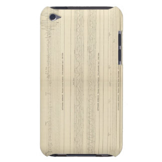 California Seismograms 12 Barely There iPod Case