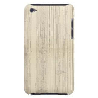 California Seismograms 8 iPod Case-Mate Cases