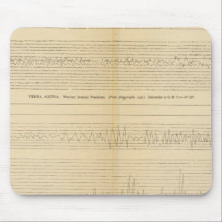 California Seismograms 9 Mouse Pad