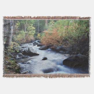 California, Sierra Nevada Mountains 11 Throw Blanket