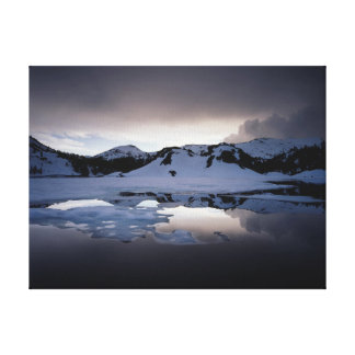 California, Sierra Nevada Mountains 13 Canvas Print