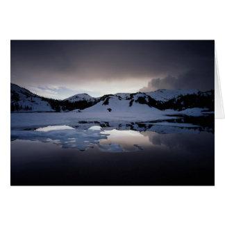 California, Sierra Nevada Mountains 13 Card