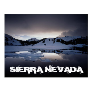California, Sierra Nevada Mountains 13 Postcard